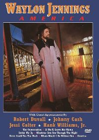 Cover Waylon Jennings - America [DVD]